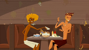"""S1 E14 Broseph throws a bowl of food at Reef saying """"Wrong. Laird Hamilton"""""""