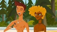 """S1 E14 Reef tells Broseph """"Dude, see that? Kianu was totally into me"""". Broseph asks Reef """"Really?"""""""