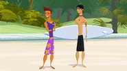 """S1 E14 Reef tells Kianu """"Oh, that is it! Two can play this game, cheater"""""""