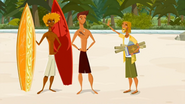 S1 E6 The Kahuna tells them El Duderino is 11 on the awesome scale