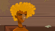 """S1 E14 Reef throws a roll at Broseph and says """"Kianu Cole's the best surfer of all time!"""""""