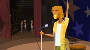 """S1 E15 Kahuna introduces Stone to the audience """"Ladies and gentlemen, the one, the only... ..Stone Seabreeze!"""""""