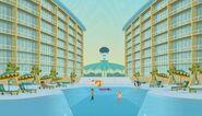 Captain Ron's Hotel pool