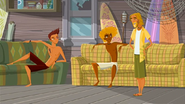 """S1 E9 The Kahuna tells Reef """"So have you changed your mind about the totem yet?"""""""