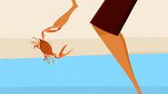 S1 E9 Crab attacks Reef