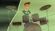 S2 E8 Reef on Drums