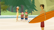 """S1 E9 Lo asks the surfer """"Kids are just so fun, aren't they?"""""""