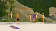 S1 E6 Reef tells Mr. Stevens he is the volleyball master