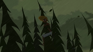 S1 E9 Broseph clings to the top of a tree