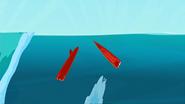 S1 E9 Reef breaks his board while landing it