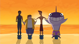 """S1 E15 Reef asks his crew """"Am I right?"""", they tell Reef """"Yeah!"""""""