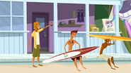 """S1 E9 The Kahuna tells Reef """"That fork just fell from a plane"""""""