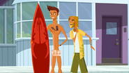 """S1 E9 The Kahuna tells Reef """"Dude, cover yourself up!"""""""