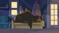 S1 E11 A Bear is sleeping on top of Broseph.png