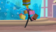 S2 E6 Bummer carries the luggage of the guests
