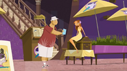 """S1 E11 Lo tells Mr. Marvin """"But... ..using your fingers is work, and you should not be working while you're on vacay"""""""