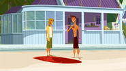 """S1 E9 Reef tells the Kahuna """"There's no way I'm putting this back. I found it and it is awesome!"""""""