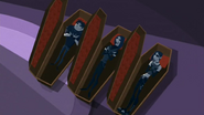 "S2 E8 Vlad tells Johnny and Reef their coffins are ""hyperbaric chambers that keep our complexions clear and re-oxygenate bodies"""