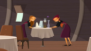 S1 E6 Emma asks Lo why they can't just set up a new table instead of draging the current one