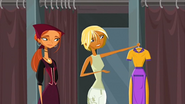 """S1 E2 Fin says she would rather wear the """"wench thing"""""""