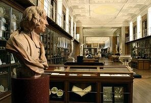 400px-BM; 'MF' RM1 - The King's Library, Enlightenment 1 'Discovering the world in the 18th Century ~ View South