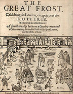 Houghton STC 11403 - Great Frost, 1608