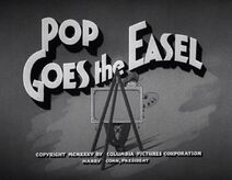 Pop Goes the Easel