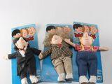 Three Stooges Dolls