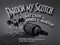 Pardon My Scotch