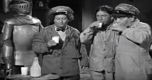 Tom (ghost) and The Three Stooges