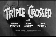 Triple Crossed title