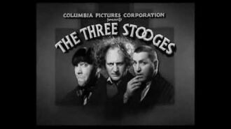 The Three Stoooges opening 1934-1959