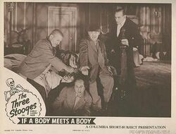 If a Body Meets a Body 1945 lobbycard