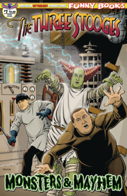 Monsters & Mayhem Main Fraims Cover