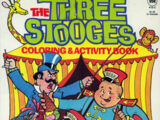 Three Stooges Coloring Books (Playmore)