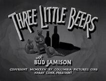 Three Little Beers