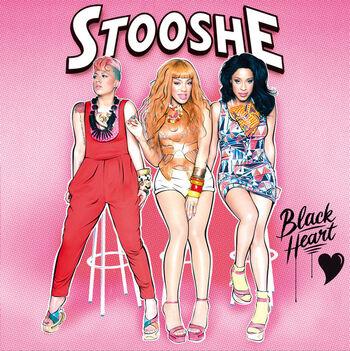 Music stooshe black heart