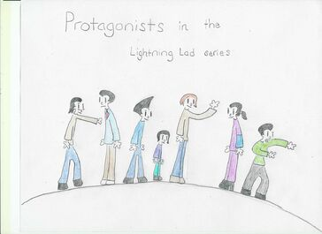 Lightning Lad Character list