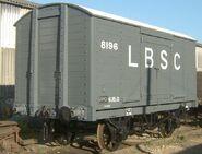 LBSC Railway 8-ton Van
