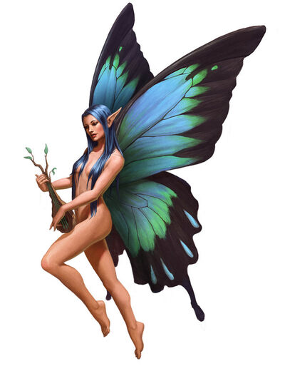 Azata fairy by lithriel-d6seyot