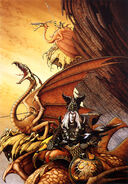Rodney matthews stories elric the dragon lord