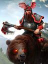 Bear Rider (Dark)