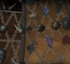Repton's shields