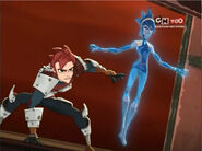 Aerrow and Piper going after Cyclonis