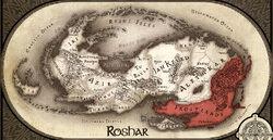 Roshar-Frostlands