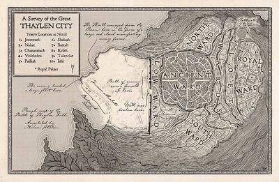 Map Thaylen City