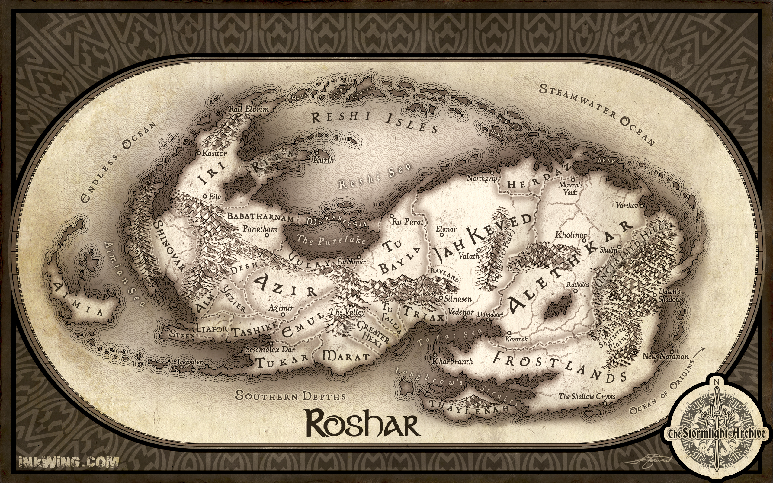 Roshar stormlight archive wiki fandom powered by wikia gumiabroncs Choice Image