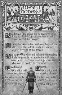 Alethi Codes of War