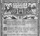 Alethi Codes of War