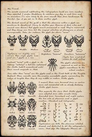 Alethi Glyphs p1